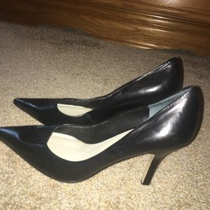 Franco Sarto real leather heels